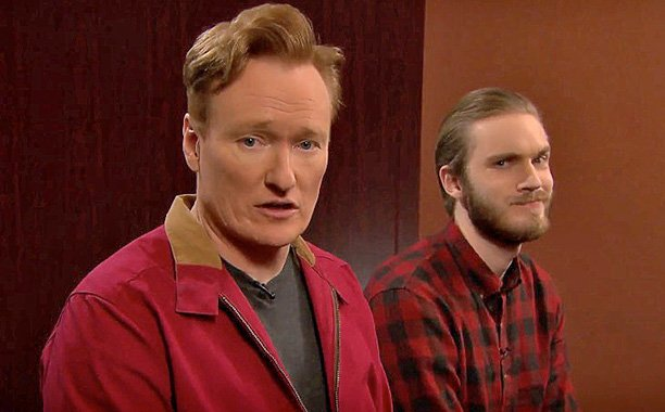Conan O'Brien & PewDiePie take on the Stone Age in FarCryPrimal edition of Clueless Gamer: