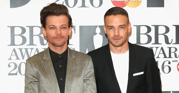 One Direction's Louis Tomlinson and Liam Payne looking dapper on the BRITs red carpet: