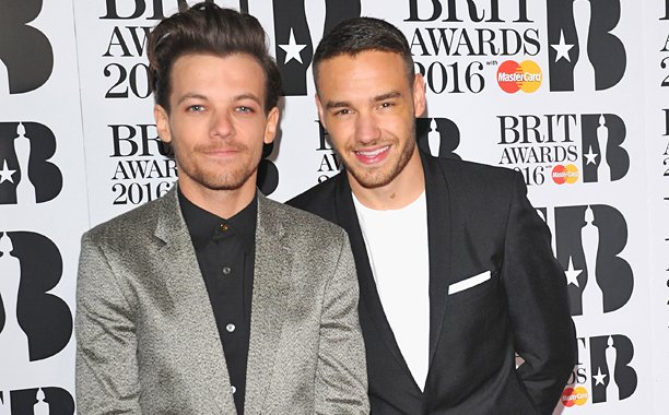 One Direction's Liam Payne and Louis Tomlinson reunite at the BRITs2016: