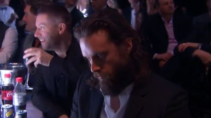 When the label forces you to an awards show that you know you're not going to win at. #Brits2016 https://t.co/bRz5Wqovjo