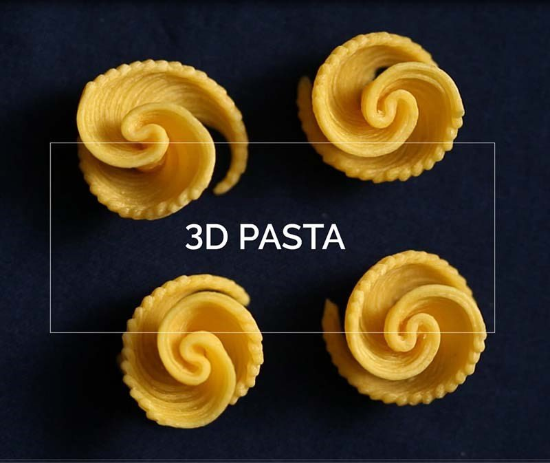 Watching 'Tomorrows Food' on @BBCOne - 3D printed pasta looks incredible #3Dprinting #foodforthought #tech #Foodies https://t.co/14g3IuxPy7