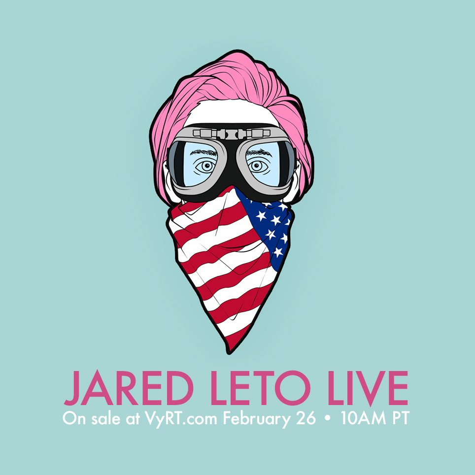 ⚡️ LIVE ACOUSTIC on @VyRT this March! Limited tix on sale FRIDAY 10AM PT!! https://t.co/6Lo2CRsmtn https://t.co/K7ueH00XiR