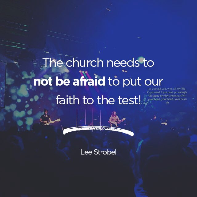 When our faith is built on Christ, it is strong enough to be tested! #IgniteTX https://t.co/lZ0qNMGT8w