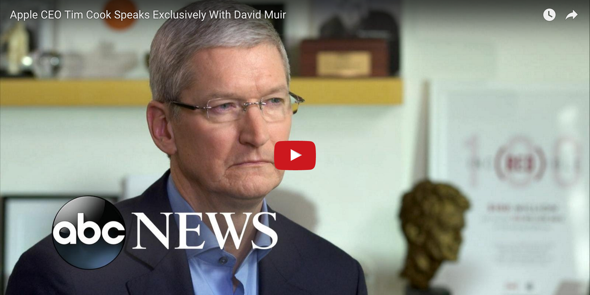 This is probably the best interview I've ever seen Tim Cook give https://t.co/NOgBi7fjon https://t.co/G6sCf4k7xw
