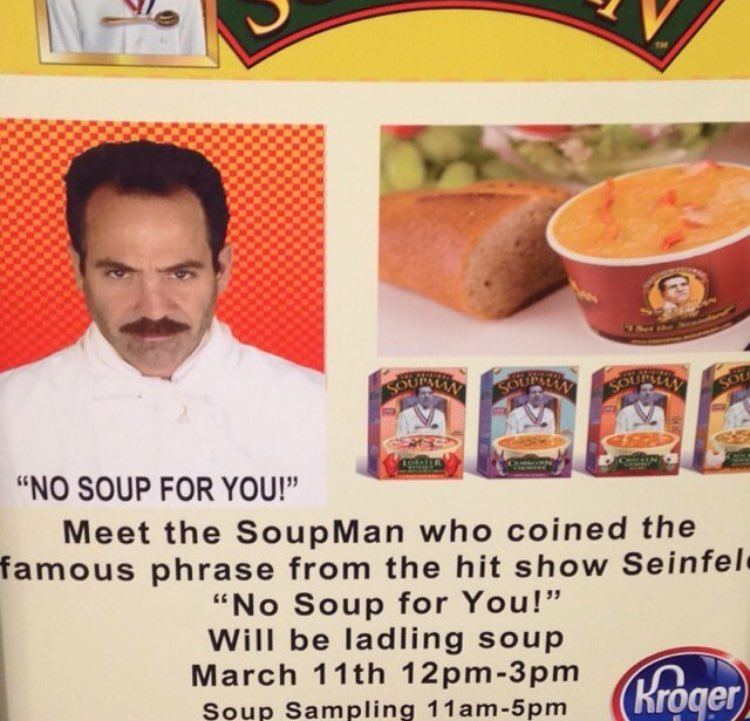 who could forget the classic character SoupMan https://t.co/gVGd7rwkcy