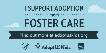 Please RT if you support #adoption from #fostercare! https://t.co/AMzLNOgWgT