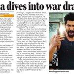 RT @Bazinga_Ent: . @RanaDaggubati talks about his underwater shoot experience while shooting for trilingual film #Ghazi #MumbaiMirror https…