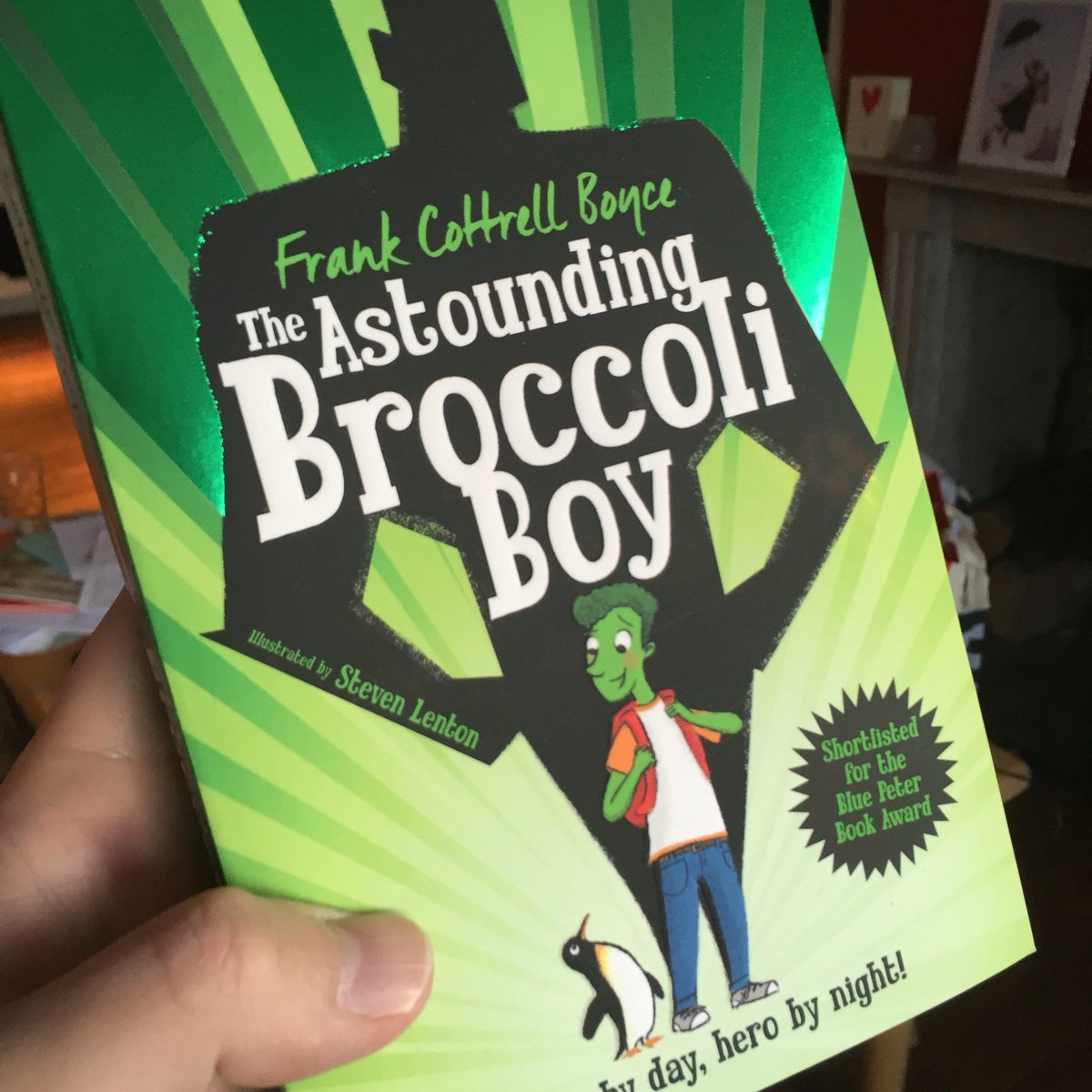 To celebrate our paperback publication day I'm giving away a dual-signed copy of Broccoli Boy! Like & RT to enter