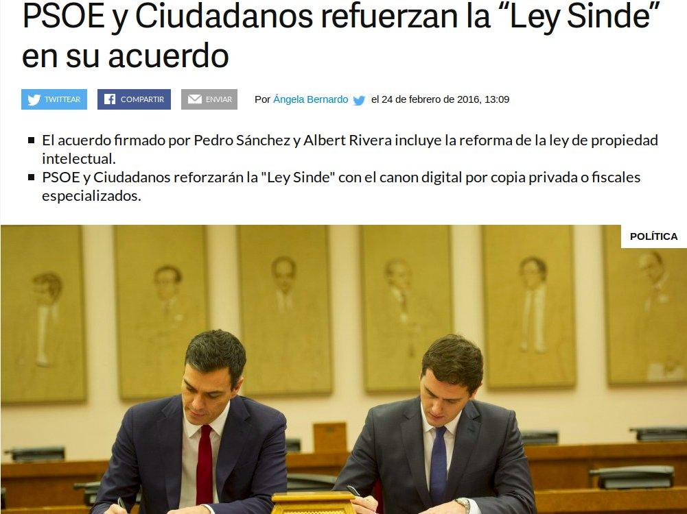 #LeySinde→#NoLesVotes→#15M→Más Ley Sinde El @PSOE ha entendido el mensaje de la sociedad... y le da igual https://t.co/uQImVyOgJj