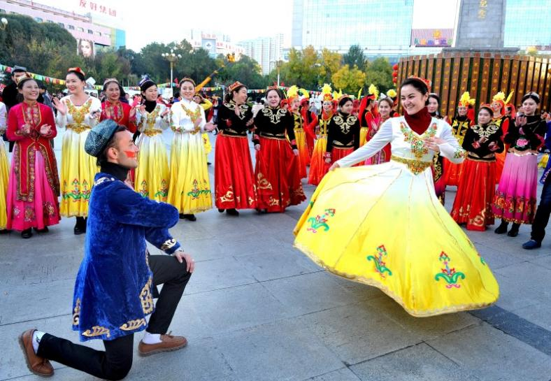 China's Xinjiang to use entertainment, possibly singing and dancing, in terror fight