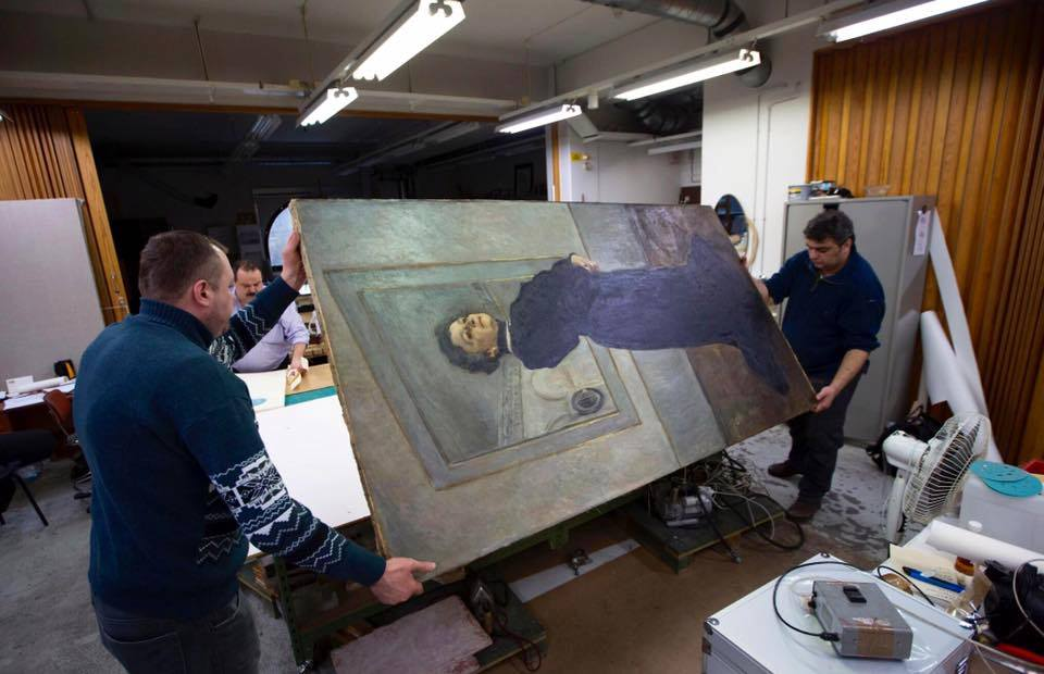 26 portraits from @Tretyakovgal are going to @NPGLondon! #YoLL2016 https://t.co/nZScH3bThy