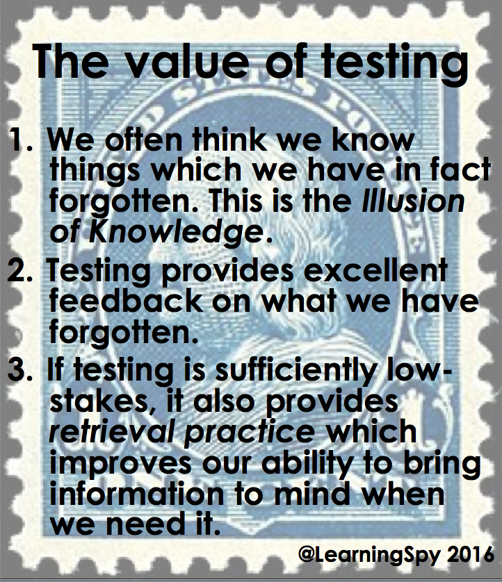 The value of testing - on the back of a postage stamp https://t.co/0RqMHwQyzb