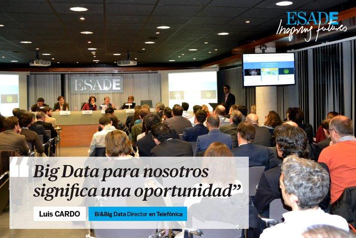Las empresas necesitan líderes en #BigData. ¡En @Telefonica lo tienen claro! #ESADEbigdata https://t.co/rxJJGdvTfo https://t.co/rzCW5wzvs5