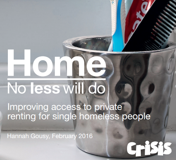 We support @crisis_uk's report out today 'Home: No less will do', @Denise_Hatton's responds https://t.co/F1zSK5Mgtw https://t.co/uteRjr5NZP