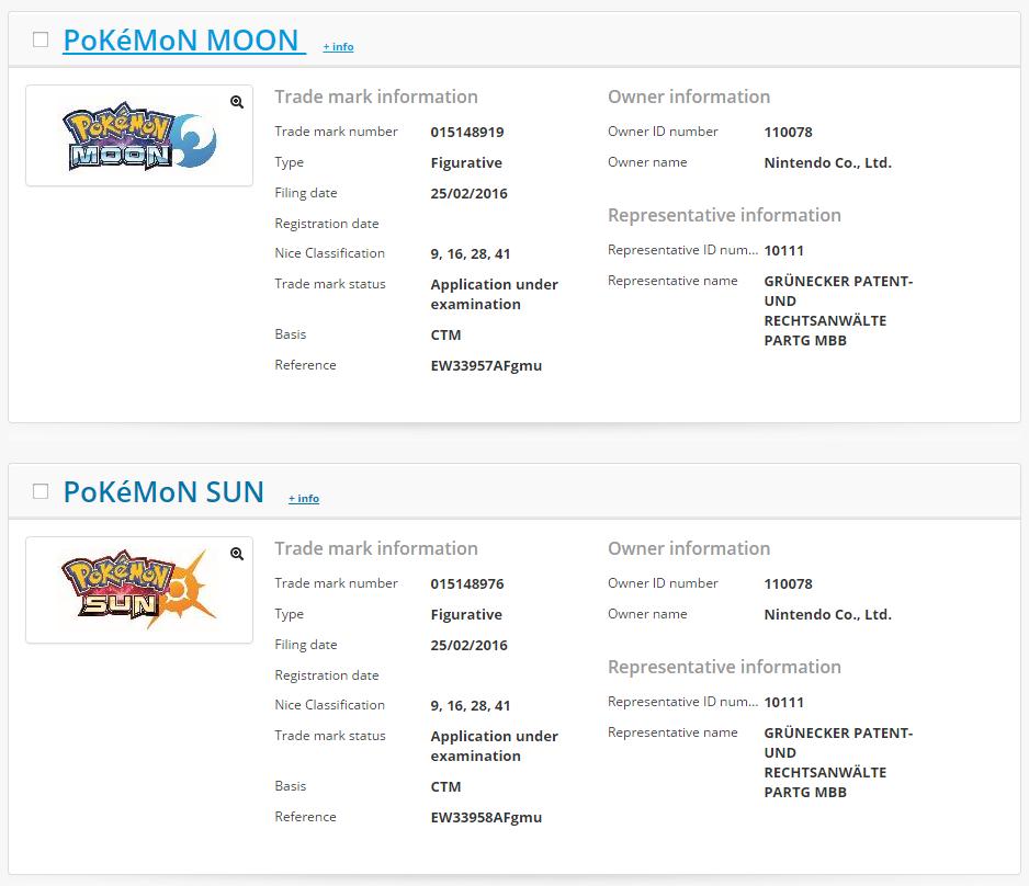 Pokemon Sun & Moon registered by Nintendo (via @Nerd_Leaks) https://t.co/qeQDB75nfO https://t.co/OgkN20FFwV