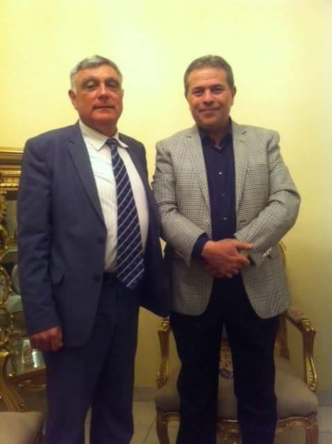 صورة من لقاء السفير حاييم مع عضو البرلمان توفيق عكاشة https://t.co/5NzzZOnryg