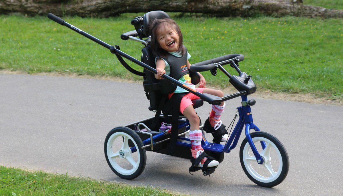 600 Adaptive Bikes Will be Given Away in the #GreatBikeGiveaway https://t.co/WzMD5MLC16 https://t.co/reSDozwWzY
