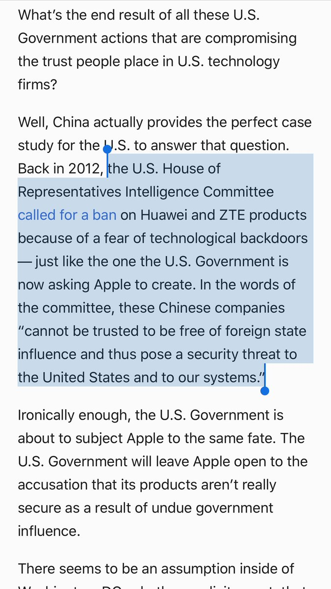 Guess what happened when the US found out Huawei had Chinese Government backdoors?  https://t.co/fhZepz5n2D https://t.co/3IDYp6J9fS
