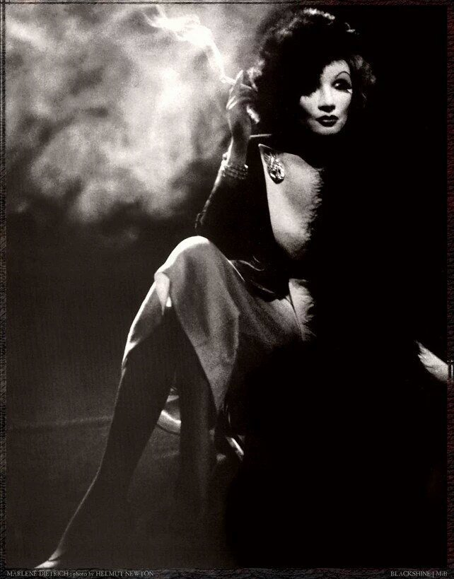 """Whitout tenderness , a man is uninteresting. ""  Marlene Dietrich  by  Helmut Newton https://t.co/12cp0u2vhS"