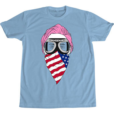 RT @MARSStore: ???? Red, white + blue with a dash of PINK. NEW @JaredLeto Tee now available! | https://t.co/JvHMiw6J2C https://t.co/gBdz76j1VO