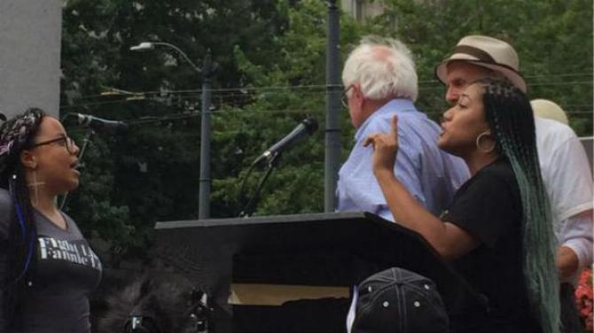 How soon people forget that @BernieSanders walked away from #BLM, his true colors. #WhichBernie #WhichHillary https://t.co/urkxFxOHhk