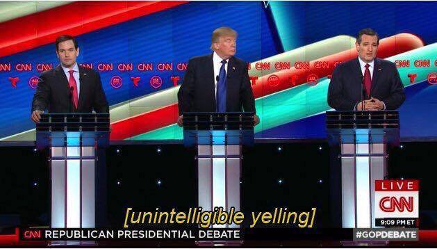 CNN closed captioning during tonight's #GOPDebate https://t.co/ED1dYLtUWa