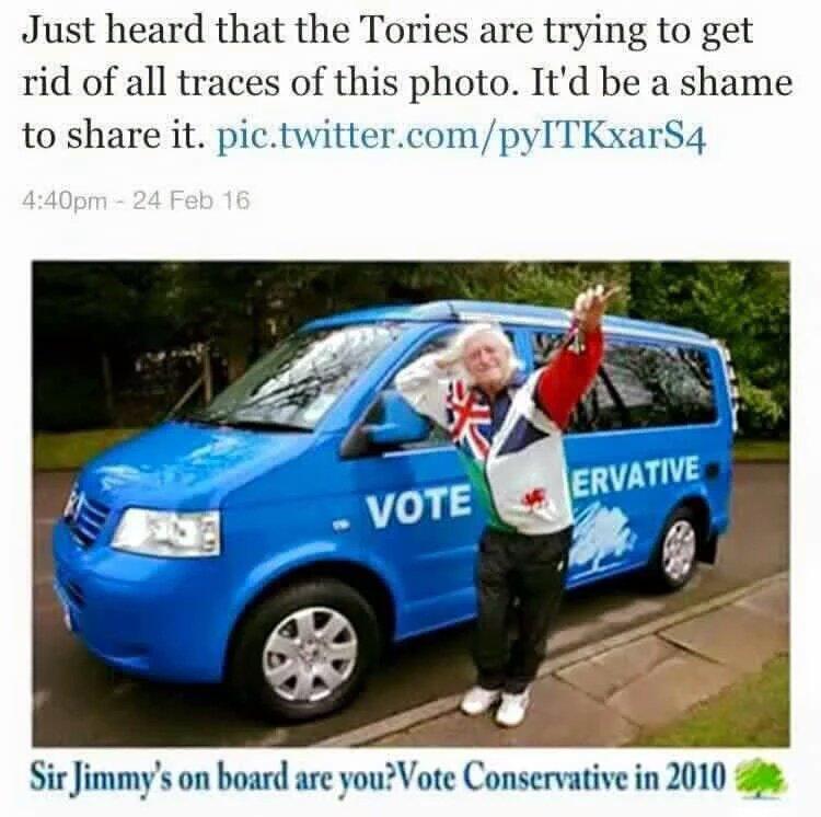 It is shameful how public bodies turned a blind eye to Jimmy Savile! Oh wait... https://t.co/gMqwdF8lu5