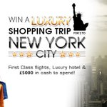 Win a New York holiday, and get £5000 to spend!! Just click ==> https://t.co/eR82Vm0pM0  #FreebieFriday https://t.co/UdmIUnKcbj