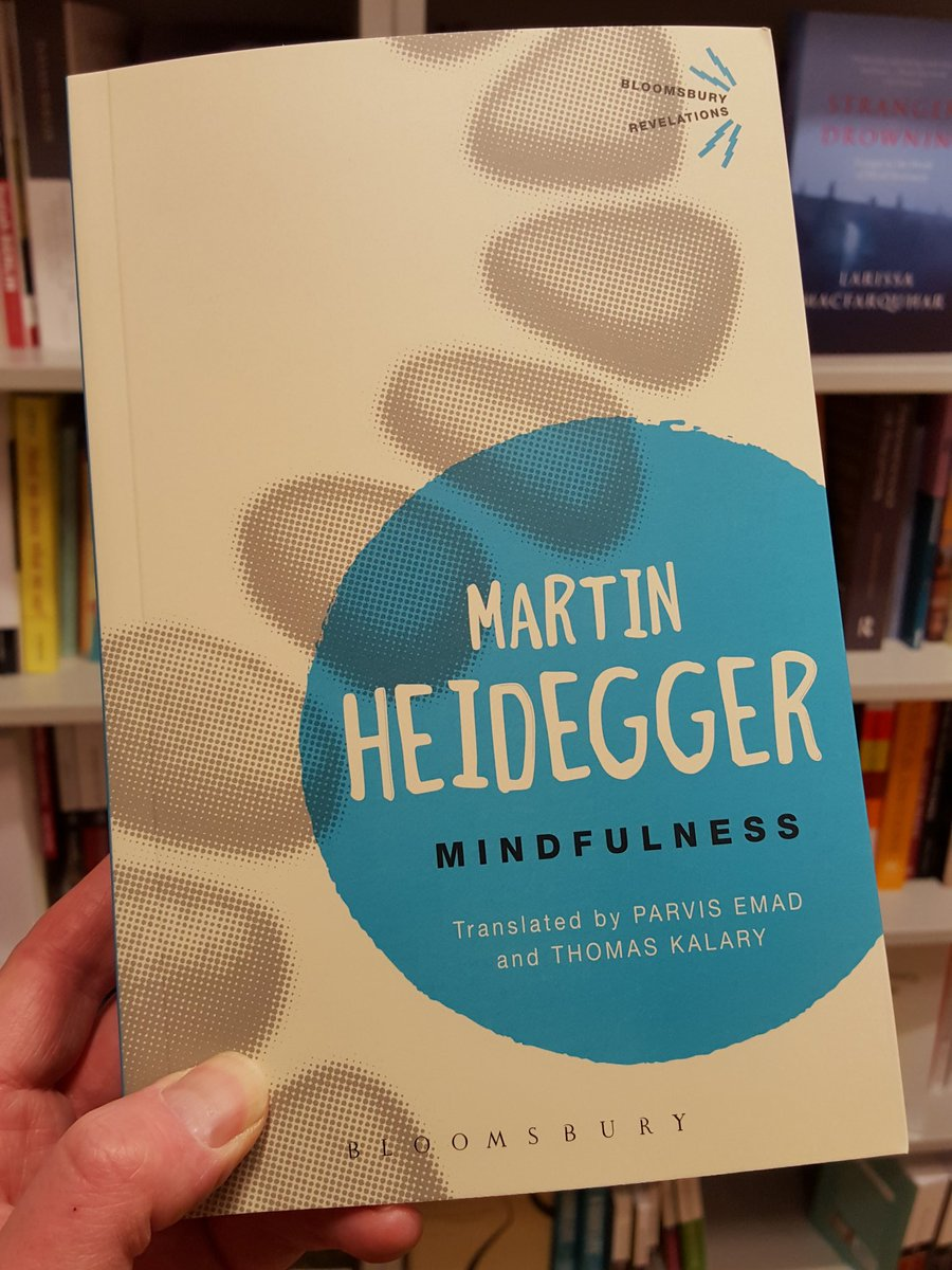 Bit disappointed to see Heidegger jumping on the mindfulness bandwagon. https://t.co/8nQcHSfUIT