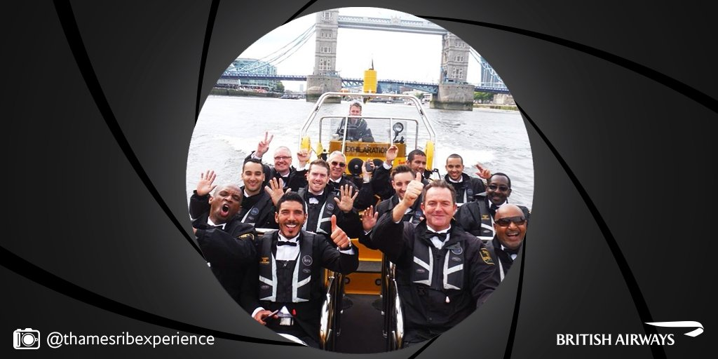 Speed down the river like an Oscar-worthy Bond with ThamesRIBExperience. Book your trip: