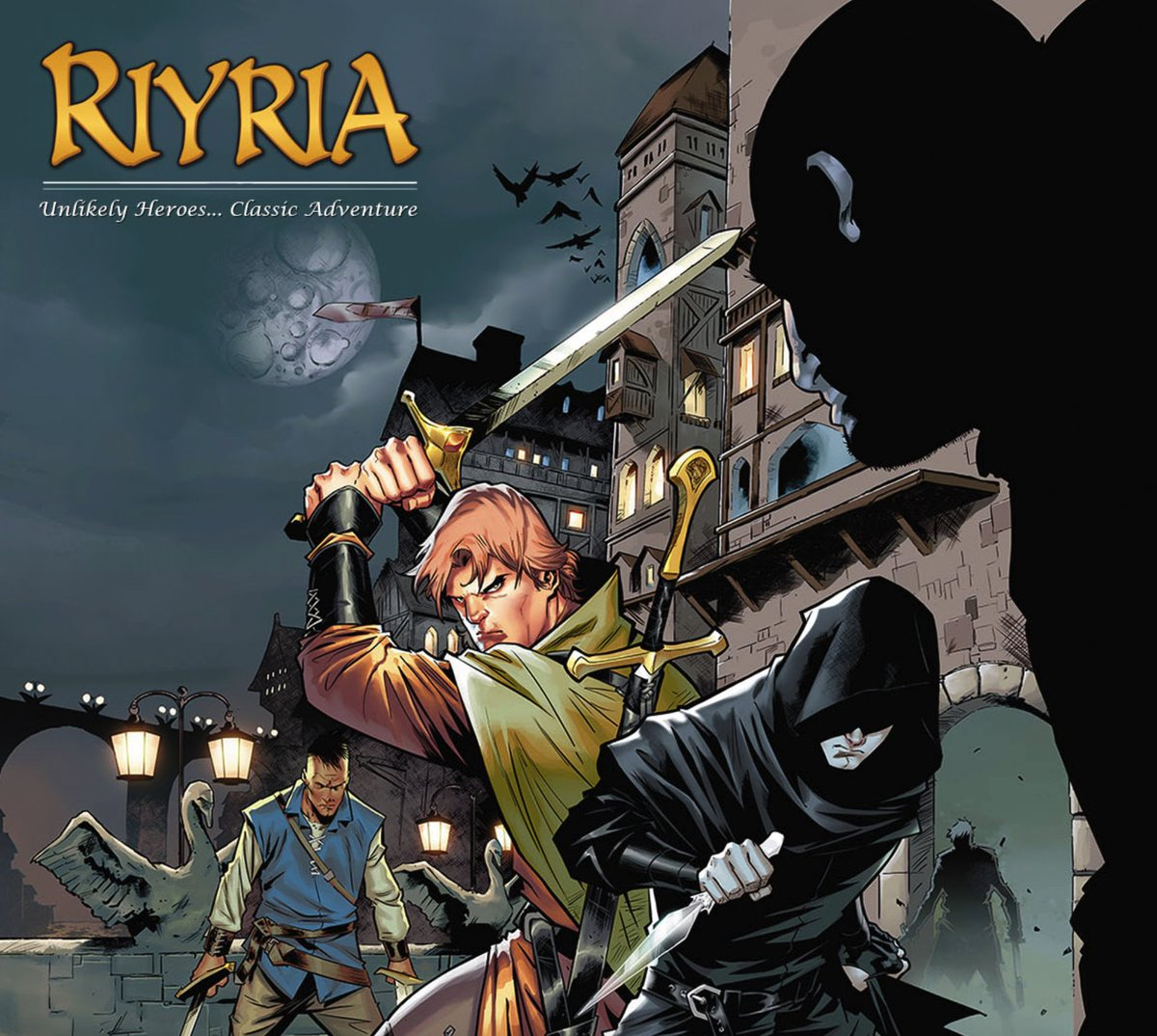 A Riyria graphic novel in production! Artist will be Nigel Raynor Learn more at: https://t.co/CWZM81godX https://t.co/9dkN0qQUlP