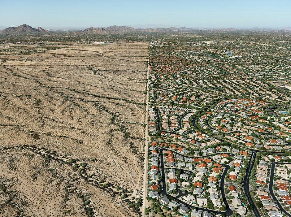 米アリゾナ州フェニックスの近郊...