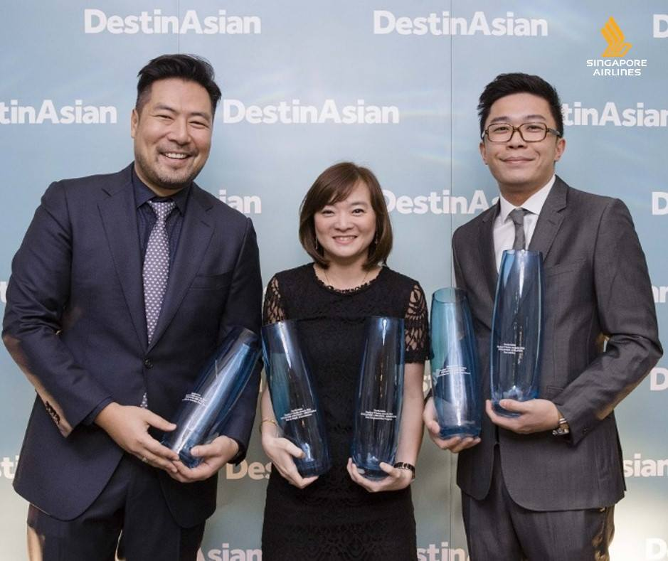 Congrats @SingaporeAir. 11th 'Best Airline' DestinAsian Readers Choice Award.