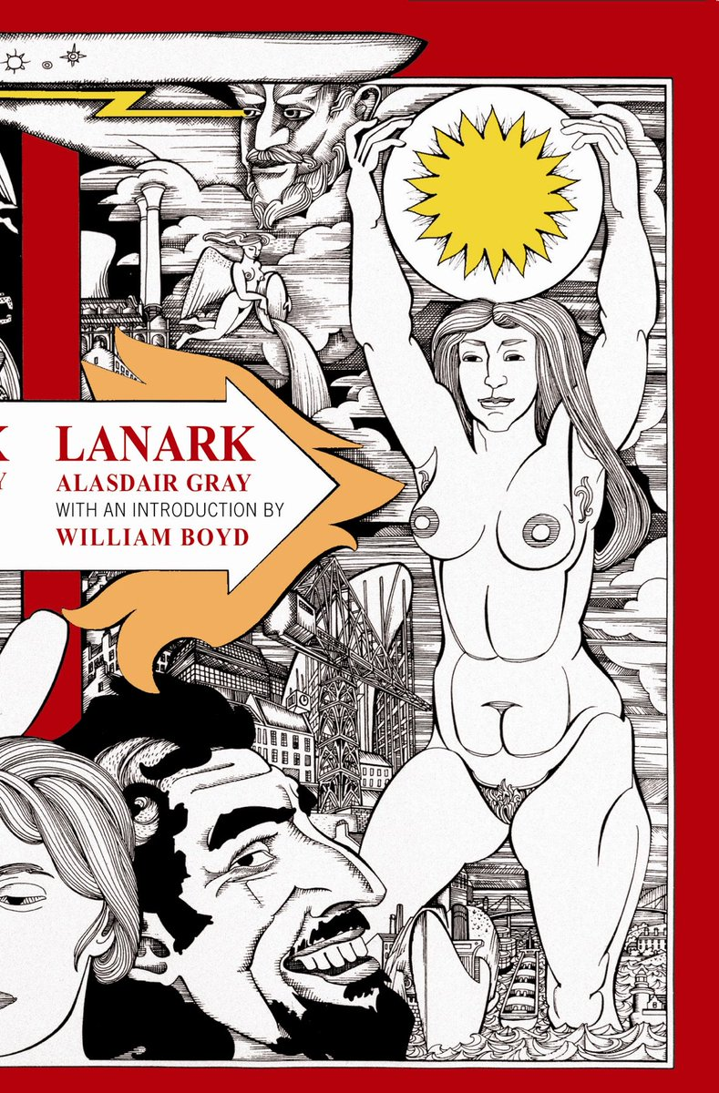 One of the great novels of the 20th Century, 35 today – happy birthday Lanark https://t.co/0j89AyyK1n