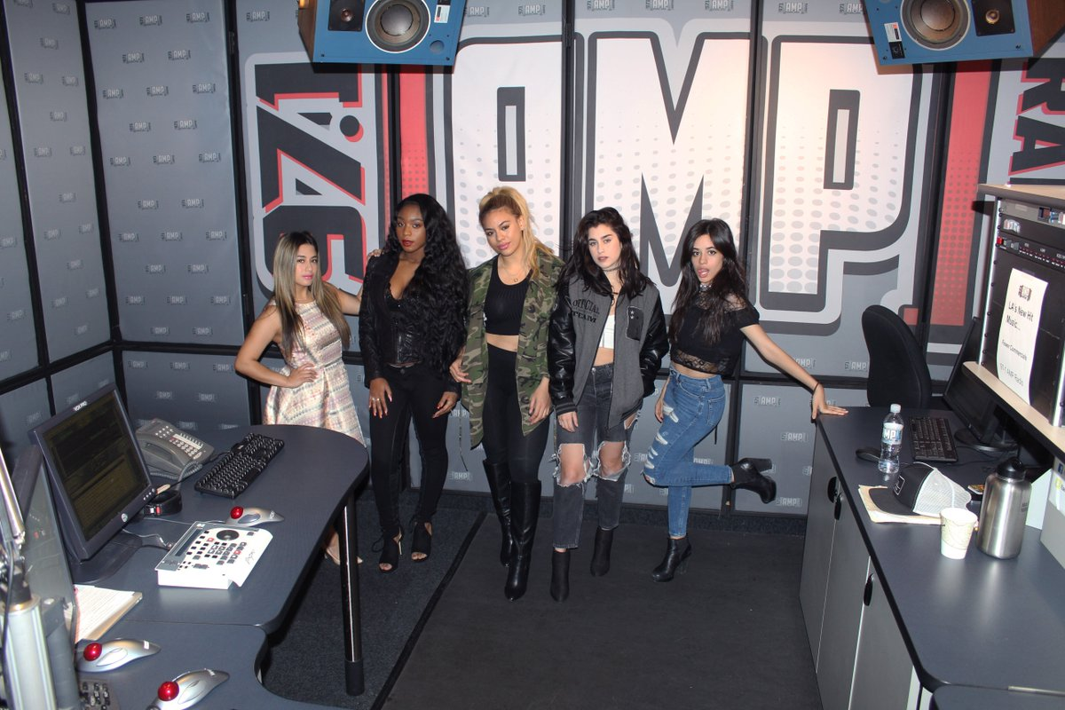 .@FifthHarmony is here to play their new song #WorkFromHome! Turn it up #LA! https://t.co/nA4DRqrop4 https://t.co/qMFqrisytQ