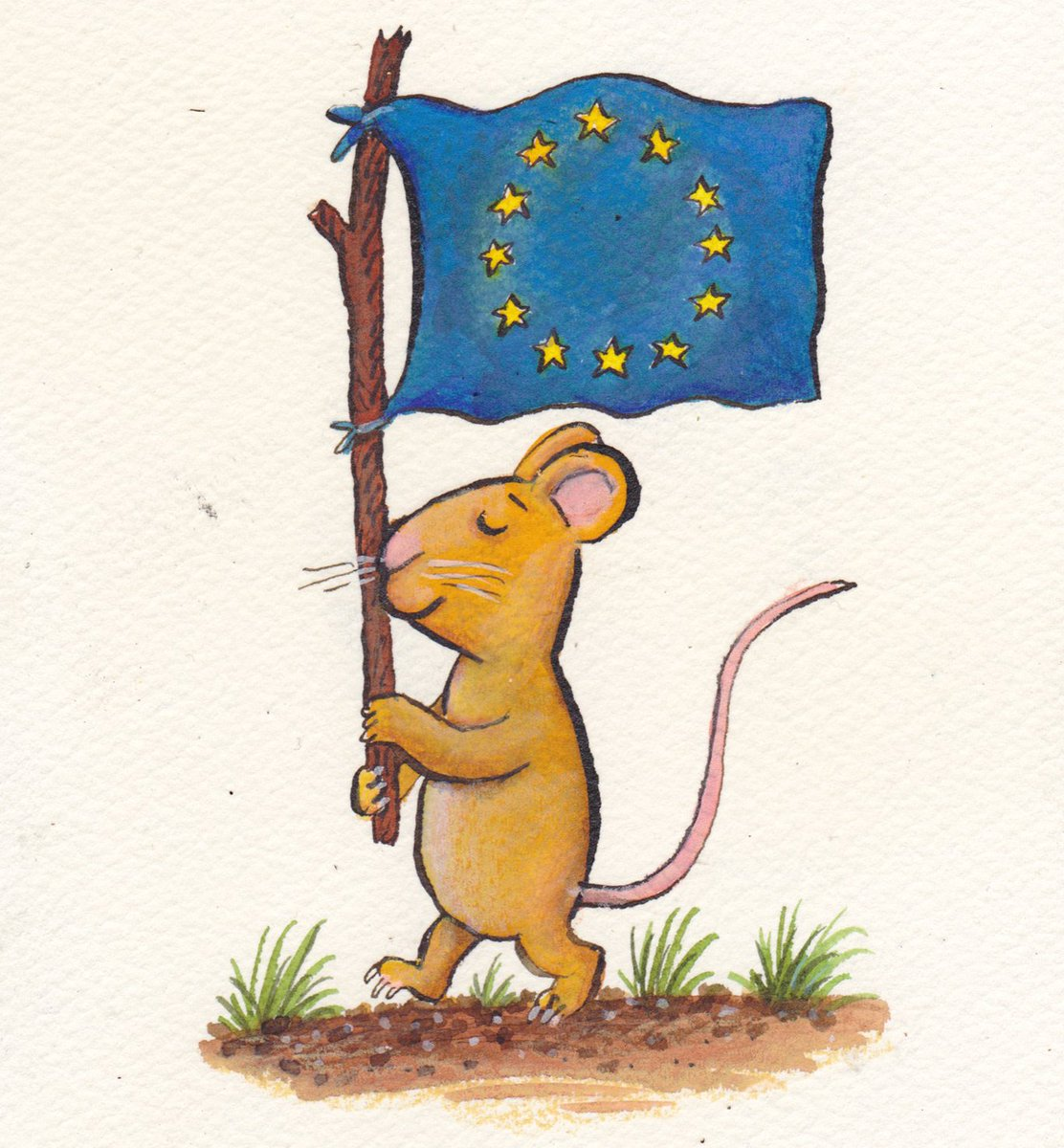 Without the EU, there would be no Gruffalo: Axel Scheffler on the prospect of Brexit https://t.co/0PBFNS7uBd https://t.co/V4DkAOoqWb