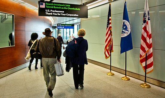 Flying to the US? You can download & fill in US Customs forms before coming to the airport