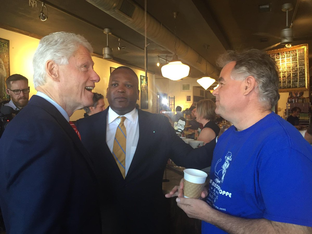 Even @billclinton knows @FivePointsSC is the place to be!  Thanks for stopping, Mr. President!