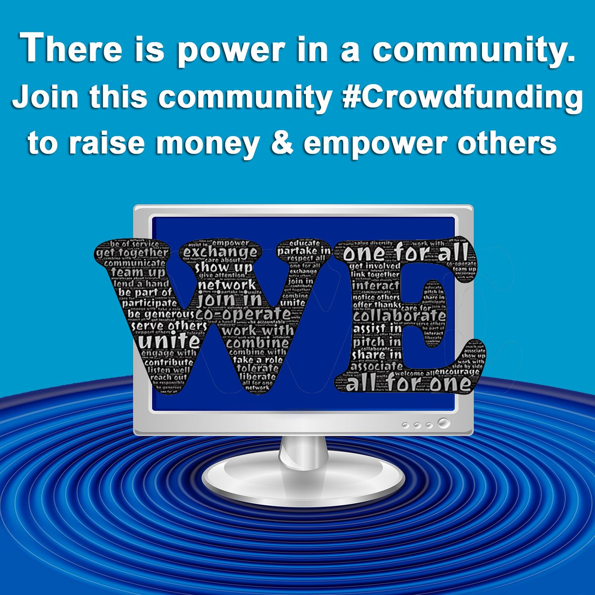 There is power in a community #CrowdFunding    https://t.co/HAUwwlWqJr https://t.co/jOBG22Fpwz