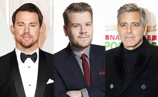 James Corden has his eye on both Channing Tatum and George Clooney for his latest project: