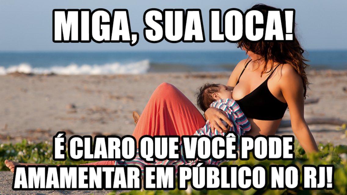 #ÉBoato essa história de que está proibido amamentar em público no estado. https://t.co/PqIllOSSL8