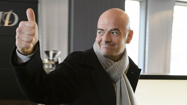 Gianni Infantino voted FIFA president, replacing Sepp Blatter