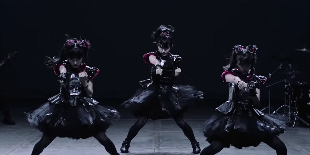 Listen to a new BABYMETAL song. https://t.co/T2y9FA8Gwv https://t.co/69jr4Md0CU