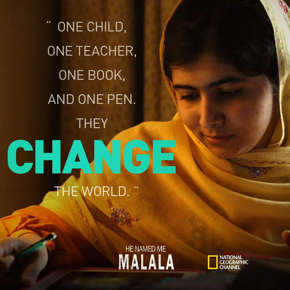 Make a vid to stand #withMalala & @21CF @NatGeoChannel will donate $1 to @MalalaFund >> https://t.co/w693ZoeDdc https://t.co/0SDfVlKU25