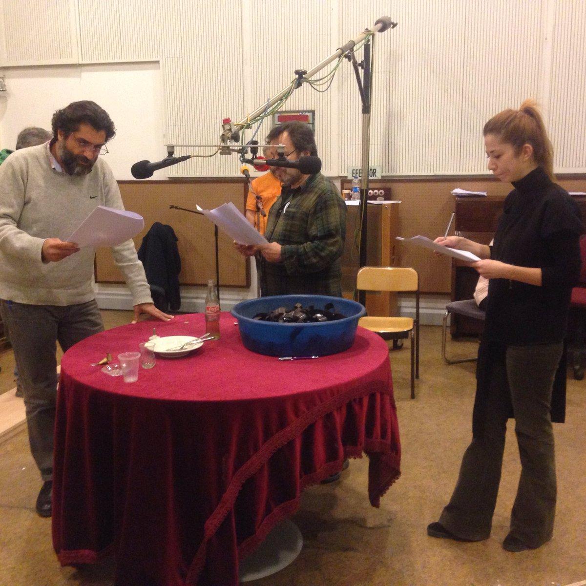 Radyonun vazgeçilmezi ve en seçkin klasiği Arkası Yarın kayıtlarımızın yapıldığı Ankara Radyosu drama stüdyomuzdan