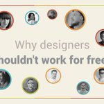 Designers share their reasons why it's not a good idea to work for free: https://t.co/gcUpSuLbJx https://t.co/ipkc3fgjRN