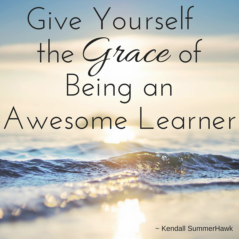 Give Yourself the Grace of being an Awesome Learner. https://t.co/GuWEryhVlG