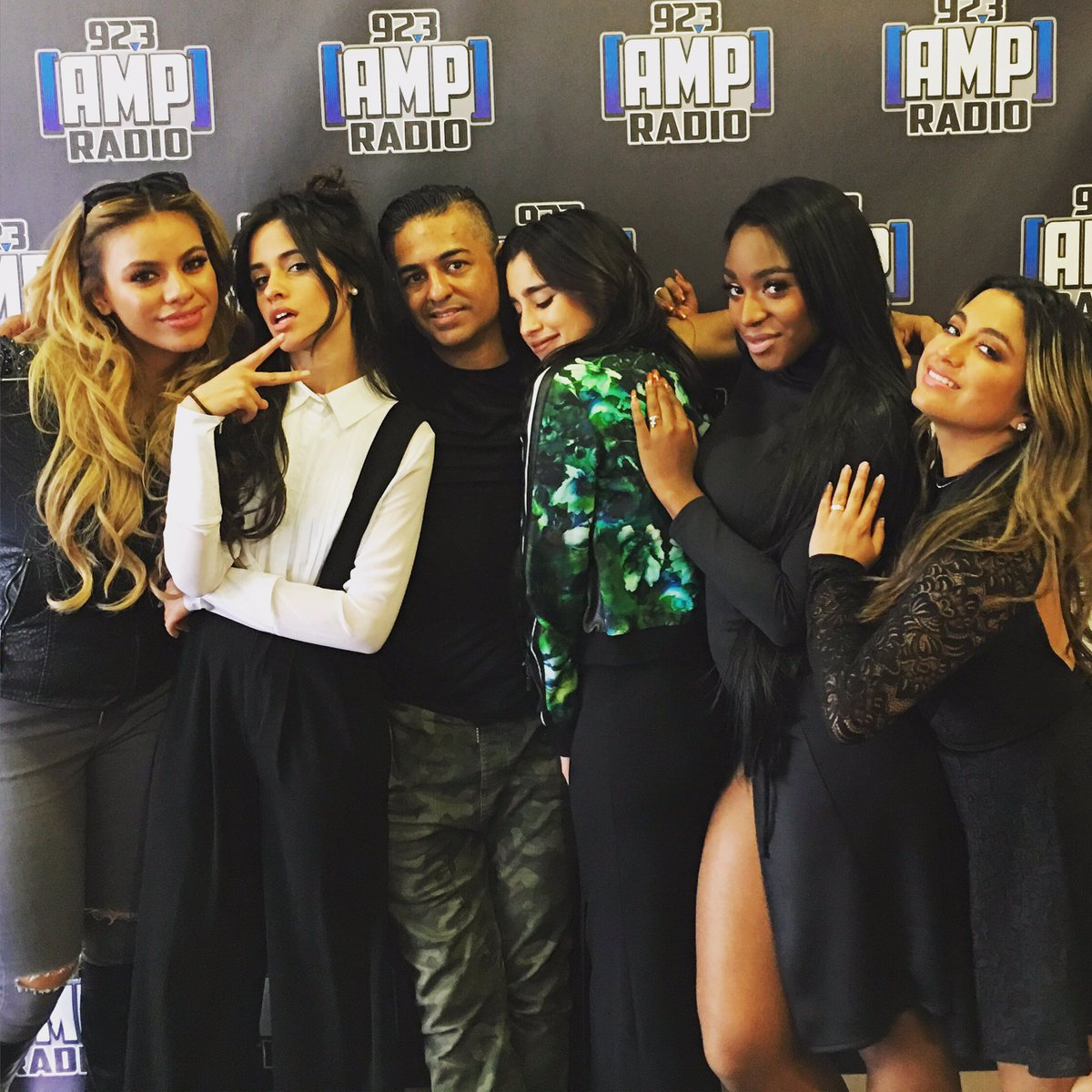 Hanging out with my girls @fifthharmony