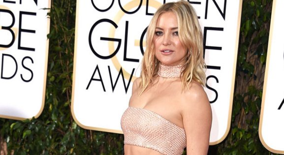 Kate Hudson describes growing up in a