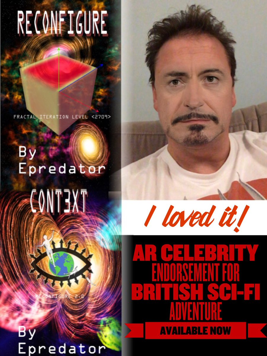 A bit of AR and collage and an advert for the #scifi books hits. https://t.co/TfcMETWlaq #iartg https://t.co/DYmMIzJwoS